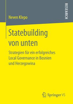Statebuilding von unten von Klepo,  Neven
