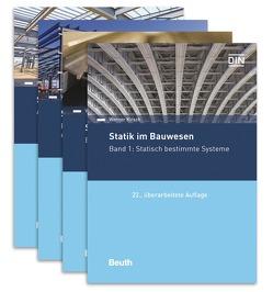 Statik im Bauwesen komplett – 4 Bände von Kirsch,  Werner, Scholz,  Eric, Spitzer,  Paul