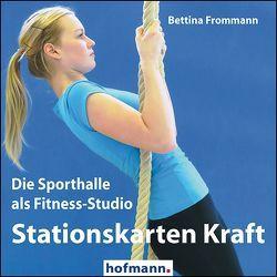 Stationskarten Kraft von Frommann,  Bettina