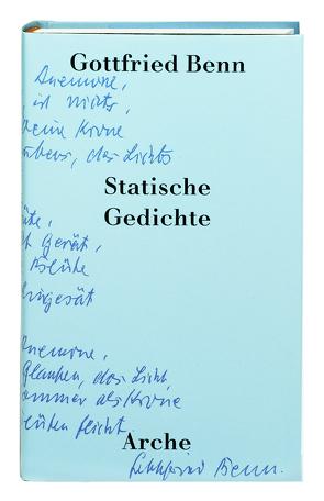 Statische Gedichte von Benn,  Gottfried, Raabe,  Paul