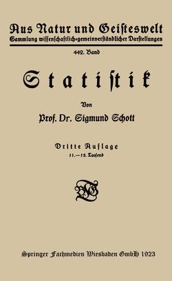 Statistik von Schott,  Sigmund