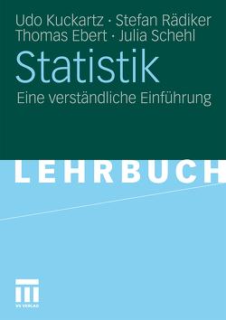 Statistik von Ebert,  Thomas, Kuckartz,  Udo, Rädiker,  Stefan, Schehl,  Julia