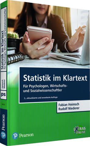 Statistik im Klartext von Heimsch,  Fabian, Niederer,  Rudolf