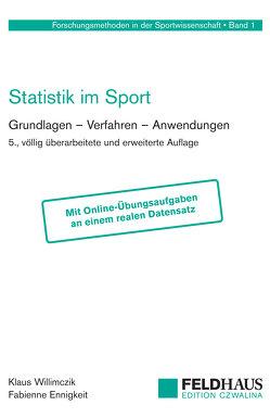 Statistik im Sport von Ennigkeit,  Fabienne, Willimczik,  Klaus