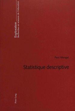 Statistique descriptive von Mengal,  Paul