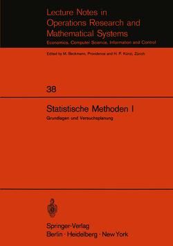 Statistische Methoden I von Walter,  E.