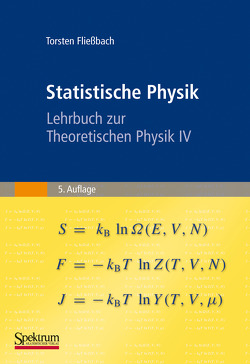 Statistische Physik von Fließbach,  Torsten