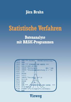 Statistische Verfahren von Bruhn,  Jörn