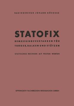 Statofix von Gödderz,  Johann