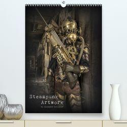 Steampunk Artwork (Premium, hochwertiger DIN A2 Wandkalender 2020, Kunstdruck in Hochglanz) von Schlesier,  Alexander