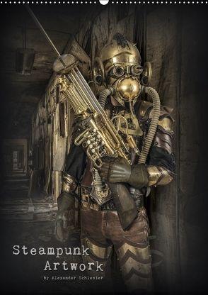 Steampunk Artwork (Wandkalender 2018 DIN A2 hoch) von Schlesier,  Alexander