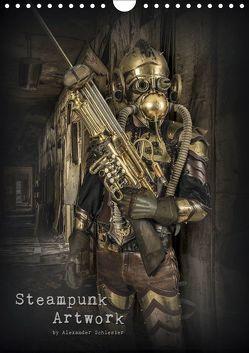 Steampunk Artwork (Wandkalender 2019 DIN A4 hoch) von Schlesier,  Alexander