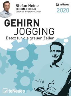Stefan Heine Gehirnjogging 2020 Tagesabreißkal.
