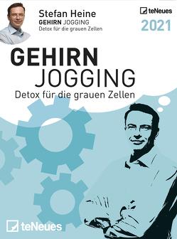 Stefan Heine Gehirnjogging 2021 Tagesabreißkalender – 11,8×15,9 – Rätselkalender – Knobelkalender – Tischkalender von Heine,  Stefan