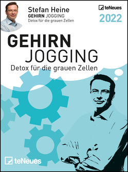 Stefan Heine Gehirnjogging 2022 Tagesabreißkalender – 11,8×15,9 – Rätselkalender – Knobelkalender – Tischkalender von Heine,  Stefan