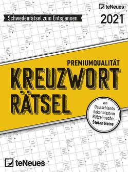 Stefan Heine Kreuzworträtsel 2021 Tagesabreißkalender – 11,8×15,9 – Rätselkalender – Knobelkalender – Tischkalender von Heine,  Stefan