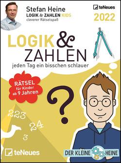Stefan Heine Logik & Zahlen 2022 – Tagesabreißkalender – 11,8×15,9 – Logikkalender – Rätselkalender – Knobelkalender von Heine,  Stefan