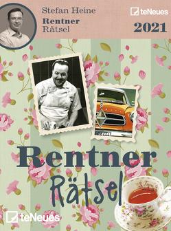 Stefan Heine Rentnerrätsel 2021 – Tagesabreißkalender – 11,8×15,9 – Rentnerkalender – Rentnerrätsel – Rätselkalender von Heine,  Stefan