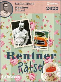 Stefan Heine Rentnerrätsel 2022 – Tagesabreißkalender – 11,8×15,9 – Rentnerkalender – Rentnerrätsel – Rätselkalender von Heine,  Stefan