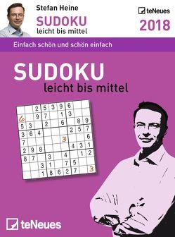 Stefan Heine Sudoku leicht bis mittel 2018 Tagesab von Heine,  Stefan