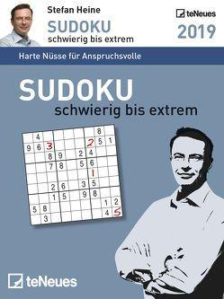 Stefan Heine Sudoku schwierig bis extrem 2019 Tage
