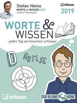 Stefan Heine Worte & Wissen 2019 Tagesabreißkalend