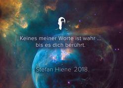 Stefan Hiene Kalender 2018 von Hiene,  Stefan, Seitz,  Mascha
