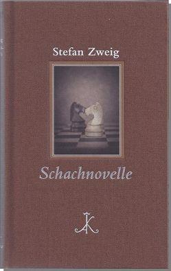 Stefan Zweig: Schachnovelle von Wenzelburger,  Dietmar, Zweig,  Stefan