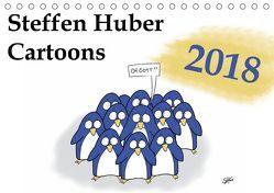 Steffen Huber Cartoons – 2018 (Tischkalender 2018 DIN A5 quer) von Huber,  Steffen