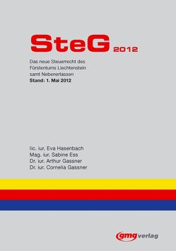 SteG 2012 von Ess,  Sabine, Gassner,  Arthur, Gassner,  Cornelia, Hasenbach,  Eva