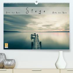 Stege- Orte der Ruhe (Premium, hochwertiger DIN A2 Wandkalender 2021, Kunstdruck in Hochglanz) von Feiner,  Denis