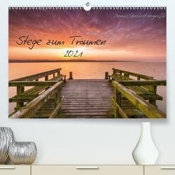 Stege zum Träumen (Premium, hochwertiger DIN A2 Wandkalender 2021, Kunstdruck in Hochglanz) von DennisStrackeFotografie