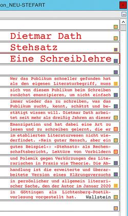 Stehsatz von Dath,  Dietmar
