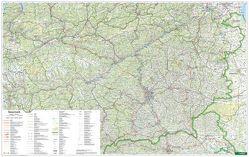 Steiermark, 1:200.000, Poster von Freytag-Berndt und Artaria KG