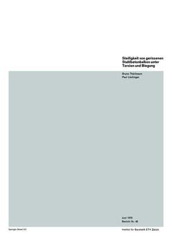 Steifigkeit von gerissenen Stahlbetonbalken unter Torsion und Biegung von Thürlimann,  B.