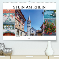 Stein am Rhein – Altstadt mit Charme (Premium, hochwertiger DIN A2 Wandkalender 2021, Kunstdruck in Hochglanz) von Brunner-Klaus,  Liselotte