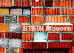 Stein Mauern (Wandkalender 2018 DIN A3 quer) von tinadefortunata,  k.A.