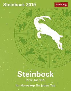Steinbock – Kalender 2019 von Harenberg, Satorius,  Robert