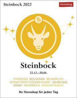 Steinbock Kalender 2022 von Harenberg, Satorius,  Robert