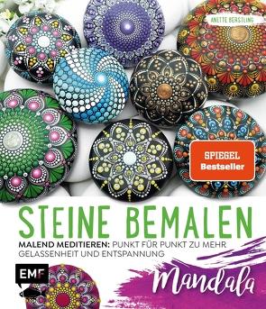 Steine bemalen – Mandala von Berstling,  Anette