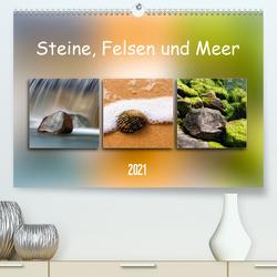 Steine, Felsen und Meer (Premium, hochwertiger DIN A2 Wandkalender 2021, Kunstdruck in Hochglanz) von Kolfenbach,  Klaus