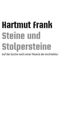 Steine und Stolpersteine von Frank,  Hartmut