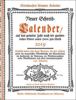 Steinhausers Kempter Kalender 2019