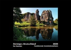 Steiniges Deutschland_Der Kalender von Holfeld,  Heike