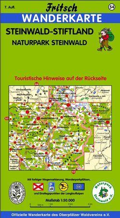 Steinwald-Stiftland von Fritsch Landkartenverlag