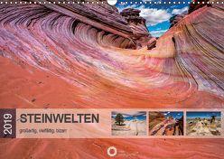 Steinwelten – großartig, vielfältig, bizarr (Wandkalender 2019 DIN A3 quer) von Leipe (leipe photography),  Peter