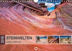 Steinwelten – großartig, vielfältig, bizarr (Wandkalender 2019 DIN A4 quer) von Leipe (leipe photography),  Peter