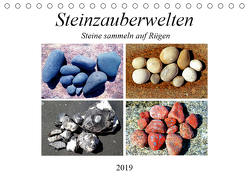 Steinzauberwelten – Steine sammeln auf Rügen (Tischkalender 2019 DIN A5 quer) von und Michaela Schimmack,  Claudia