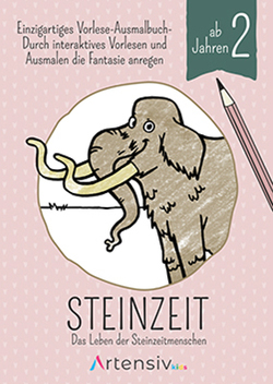 Steinzeit – Malbuch ab 2 Jahren von Schulz,  Sönke