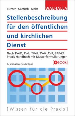 Stellenbeschreibung für den öffentlichen und kirchlichen Dienst von Gamisch,  Annett, Mohr,  Thomas, Richter,  Achim